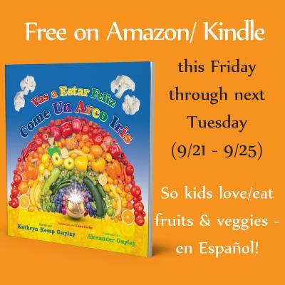 Mi libro sobre alimentación saludable para niños es gratis en Kindle