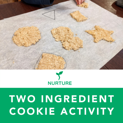 Two-Ingredient Cookie Activity