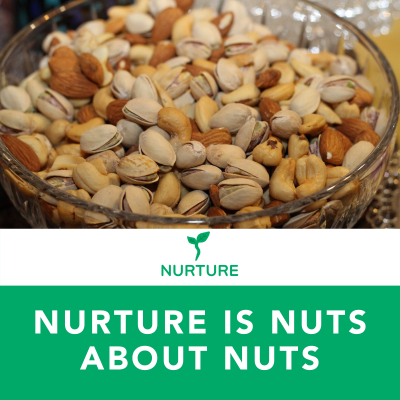 Nurture is Nuts about Nuts