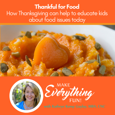 Holiday Advice: Be Thankful for Food