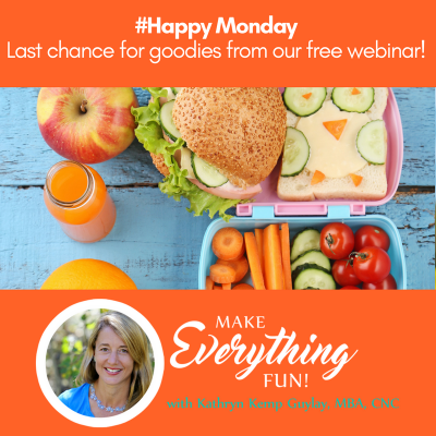 Enjoy our Make Nutrition Fun Class and Free Goodies!