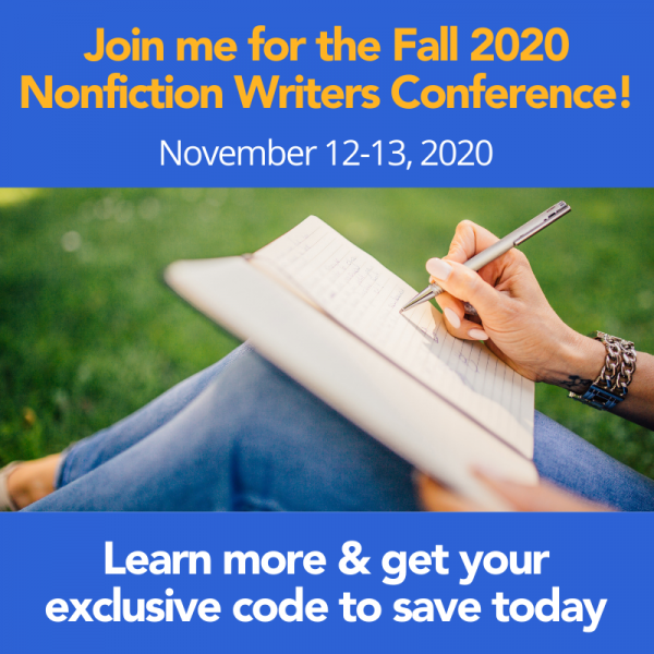 fall 2020 Nonficton writers conference