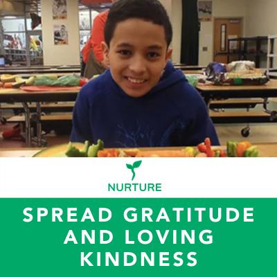 Spread Gratitude and Loving Kindness