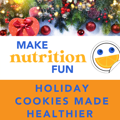 Holiday Cookies Made Healthier