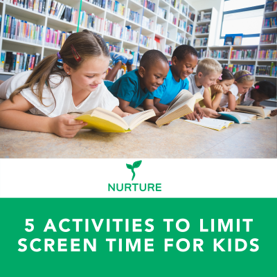 5 Activities to Limit Screen Time for Kids