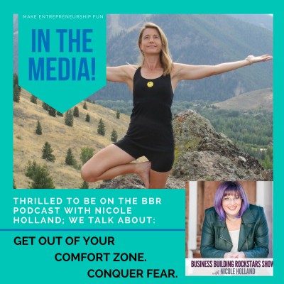 Get Out of Your Comfort Zone (Interview on Business Building Rockstars)