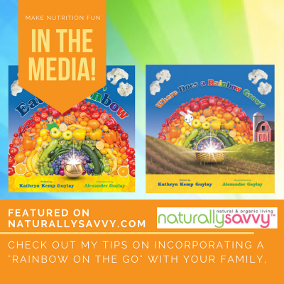 Rainbow on the Go (Guest Post on Naturally Savvy)