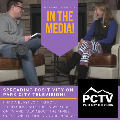 Overcome Fear and Find Positivity (Interview on PCTV)