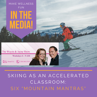 Skiing as an Accelerated Classroom