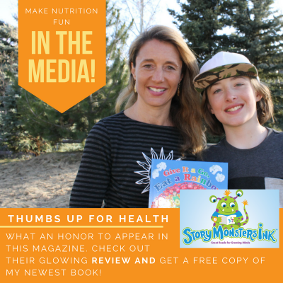 Thumbs Up for Kids Health (Review in Story Monsters Ink Magazine)
