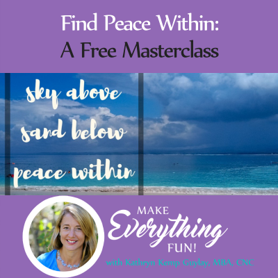 Find Peace Within (Training with Dr. Michael DeMaria)