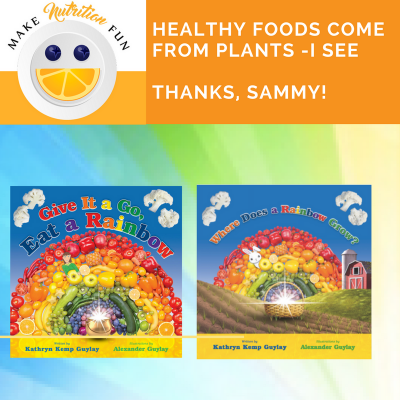 Healthy Foods Come from Plants (Where Does a Rainbow Grow?)