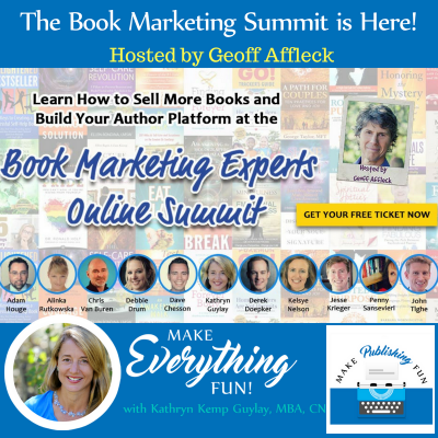 The Book Marketing Experts Summit Is Here