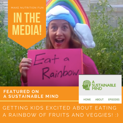 Inspiring Kids to Eat a Rainbow (Interview on Sustainable Mind Podcast)